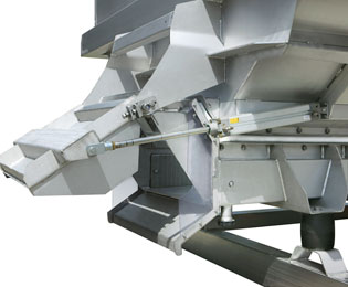 Pera Pellenc, manufacturer of horizontal screw hoppers