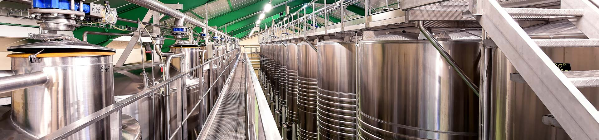 Management of fermentation temperatures, cooling processes from Pera Pellenc, winemaking equipment
