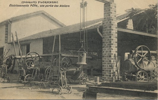 In 1905, creation of the Pera frères company