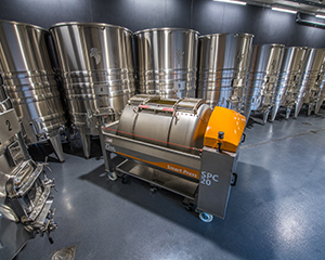 Full range of winemaking equipment designed by Pera Pellenc