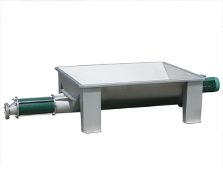 PHV: eccentric screw pump with hopper (stationary) - Pera Pellenc, manufacturer of winemaking receiving equipment