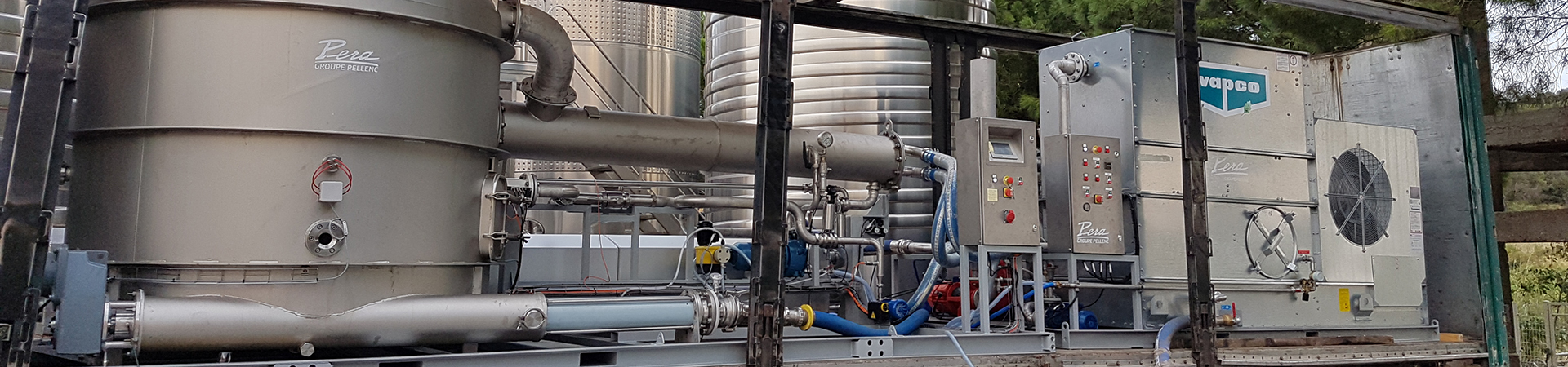 Pera Pellenc, manufacturer of winemaking equipment: Gulfstream