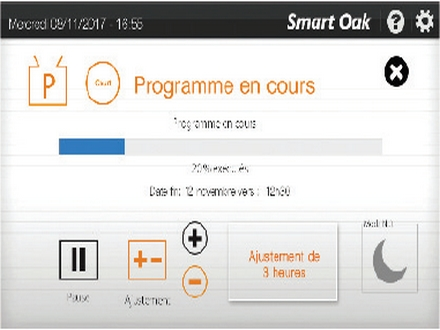 Mode de programmation avancé du pressoir pneumatique Smart Press