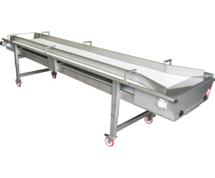 Sorting table with belt (TTB): Pera Pellenc, manufacturer of winemaking receiving equipment