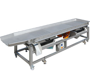Vibrating sorting table (TVT): Pera Pellenc, manufacturer of winemaking receiving equipment